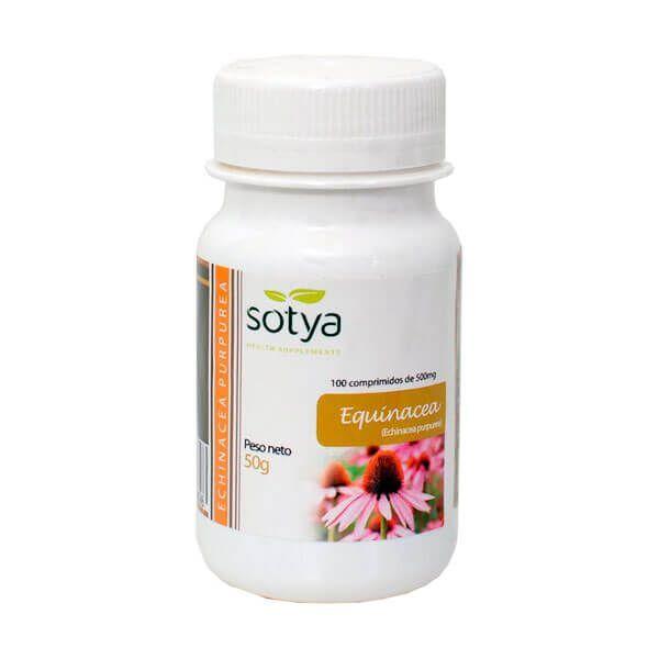 Equinácea de 100 tabletas de Sotya Health Supplements (Sistema Inmunológico)