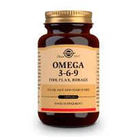EFA 1300mg Omega 3 6 9 - 60 softgels Solgar - 1