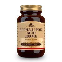 Ácido Alfa-Lipoico 200mg - 50 Cápsulas vegetales