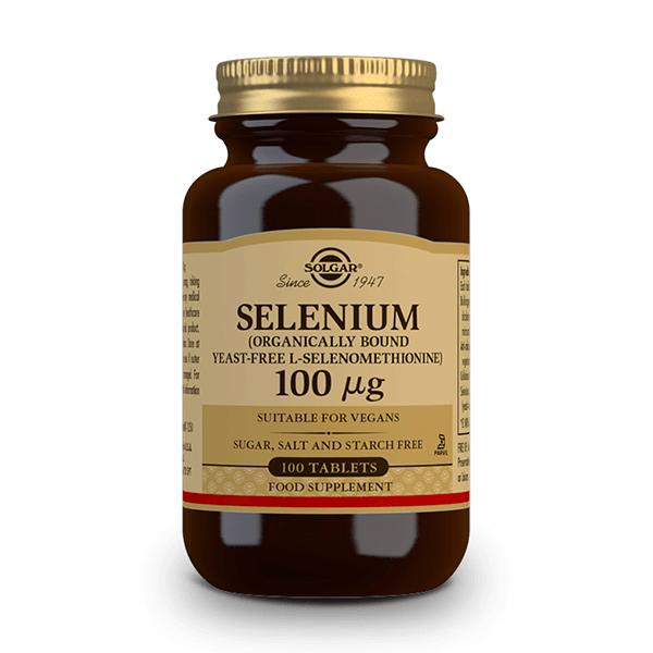 Selenium 100 100mcg - 100 tabs Solgar - 1