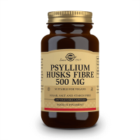 Psyllium Husks Fiber 500mg - 200 vcaps Solgar - 1