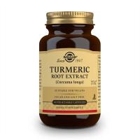 Cúrcuma Extracto de Raíz envase de 60 cápsulas vegetales de Solgar (Formulas Mejoras Articulares)