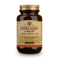 Ácido Nutri-Nano CoQ10 Alfa Lipoico - 60 Softgel Solgar - 1