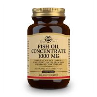 Aceite de Pescado Concentrado 1000mg de 60 softgels del fabricante Solgar (Fuente Animal)