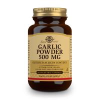 Ajo en Polvo 500mg envase de 90 cápsulas vegetales del fabricante Solgar (Sistema Inmunológico)