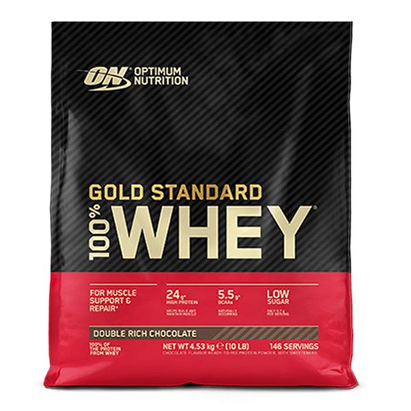 100% Whey Gold Standard  10Lb de 4,5kg del fabricante Optimum Nutrition (Proteina de Suero Whey)