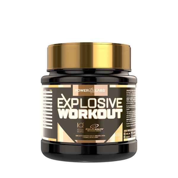 Explosive Workout envase de 400g de Power Labs (Pre-Entrenamiento)