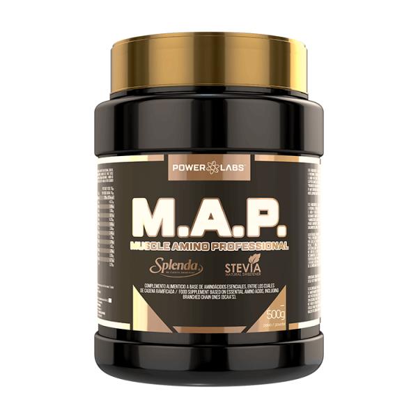 M.A.P envase de 500g de Power Labs (Aminoácidos)