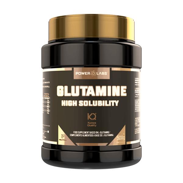 L-Glutamina de 500g de Power Labs