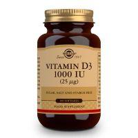 Vitamina D3 1000 UI 25μg (Aceite de Hígado de Pescado y Colecalciferol) - 100 Softgels