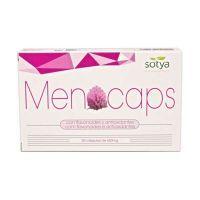 Menocaps envase de 30 cápsulas del fabricante Sotya Health Supplements (Especial Mujer)