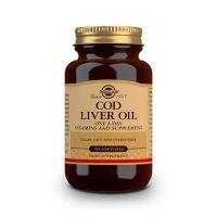 Aceite de Hígado de Bacalao - 100 Softgels