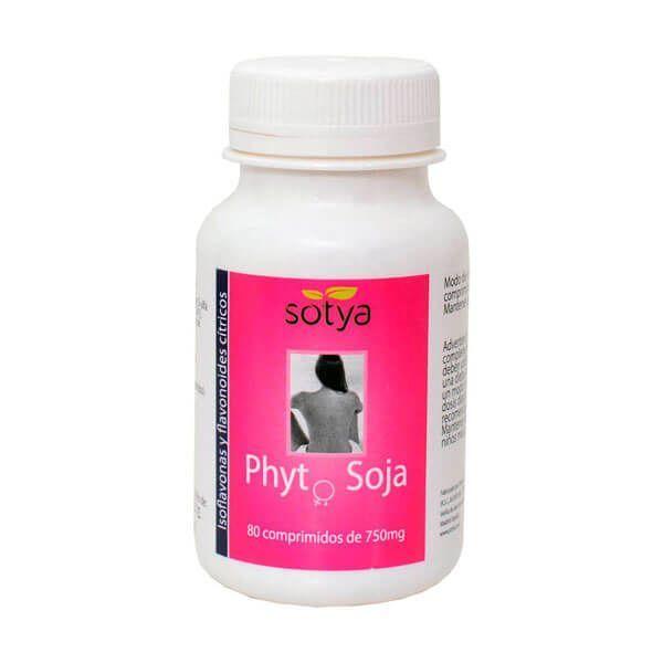 Phyto Soja 750mg de 80 tabletas del fabricante Sotya Health Supplements (Digestivos)