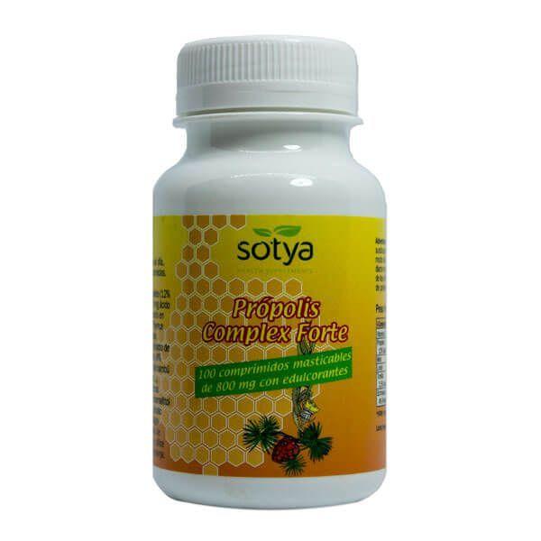 Própolis Complex Forte de 100 tabletas de Sotya Health Supplements (Sistema Inmunológico)