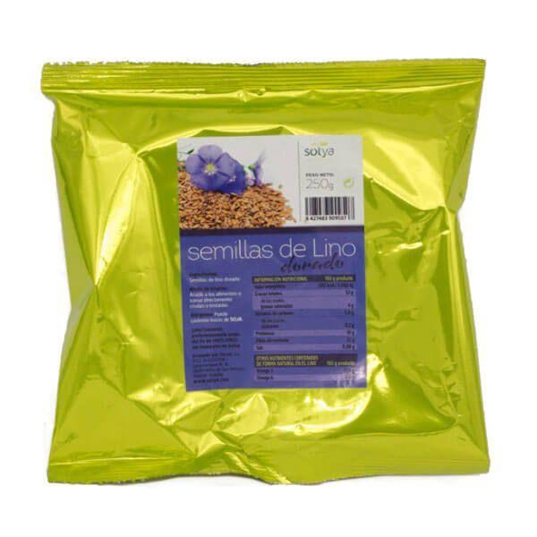 Semillas de Lino Dorado de 250g de Sotya Health Supplements (Cereales y Legumbres)
