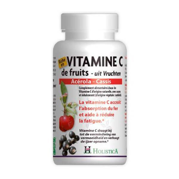 Vitamina C Frutas de 60 tabletas del fabricante Holistica