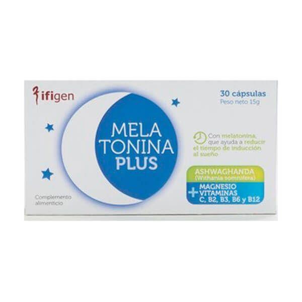 Melatonina Plus de 30 cápsulas de Ifigen (Mejora del sueño)