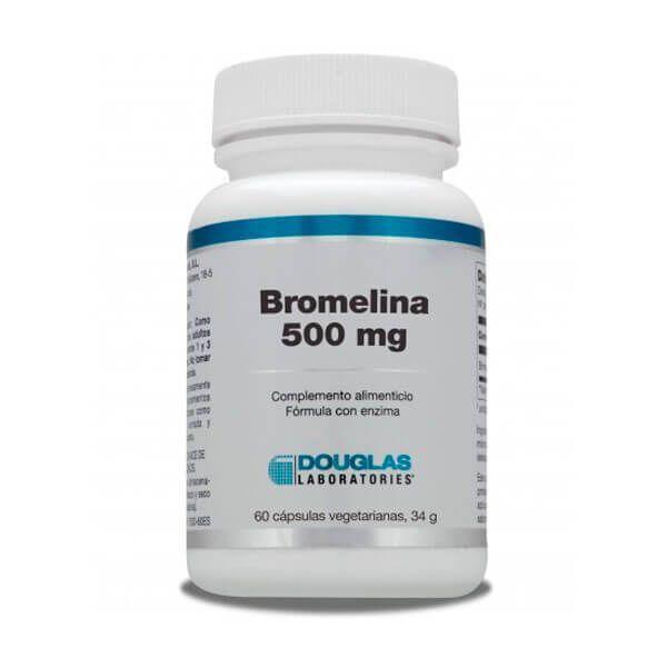 Bromelina 500mg de 60 cápsulas de la marca Douglas Laboratories (Digestivos)