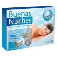 Buenas Noches envase de 60 tabletas del fabricante Eladiet (Mejora del sueño)