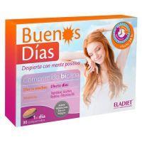 Buenos Días envase de 30 tabletas del fabricante Eladiet (Mejora del sueño)