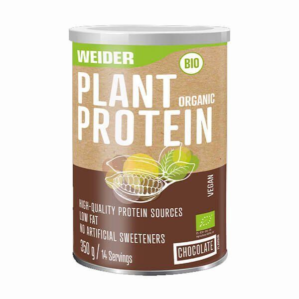 Plant Organic Protein envase de 350g de Weider (Proteína Vegetal y Veganos)