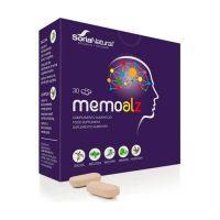 Memoalz envase de 30 tabletas de Soria Natural (Concentración-Memoria)