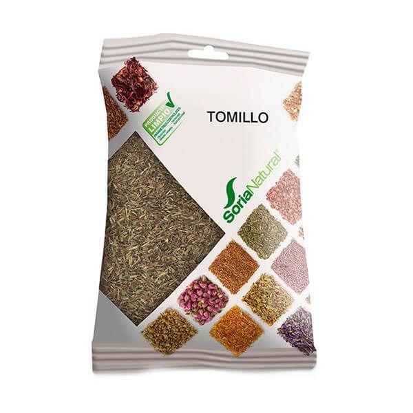 Tomillo envase de 50g del fabricante Soria Natural (Infusiones y tisanas)