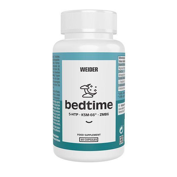 Bedtime envase de 60 cápsulas de la marca Weider (Sistema Inmunológico)