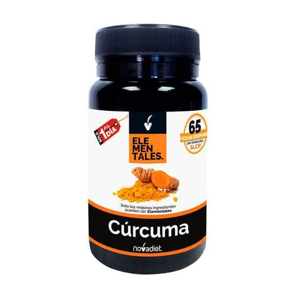 Cúrcuma de 30 cápsulas del fabricante Novadiet (Antioxidantes)