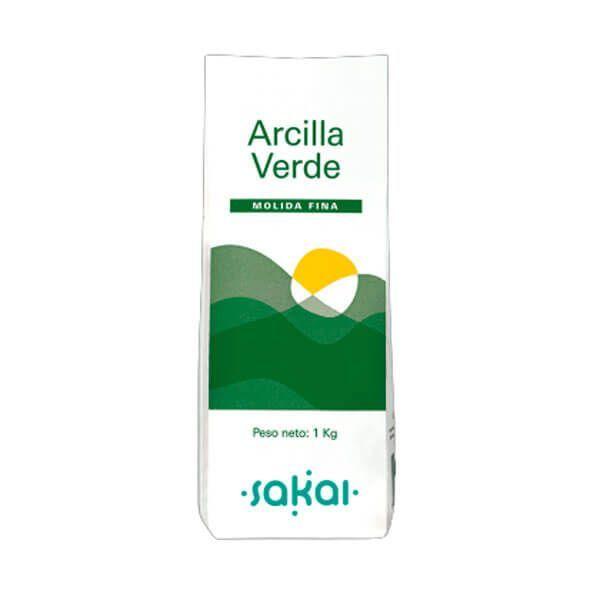 Arcilla Verde fina - 1 Kg
