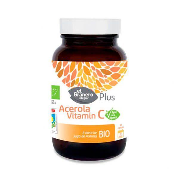 Acerola Vitamina C - 60 Cápsulas
