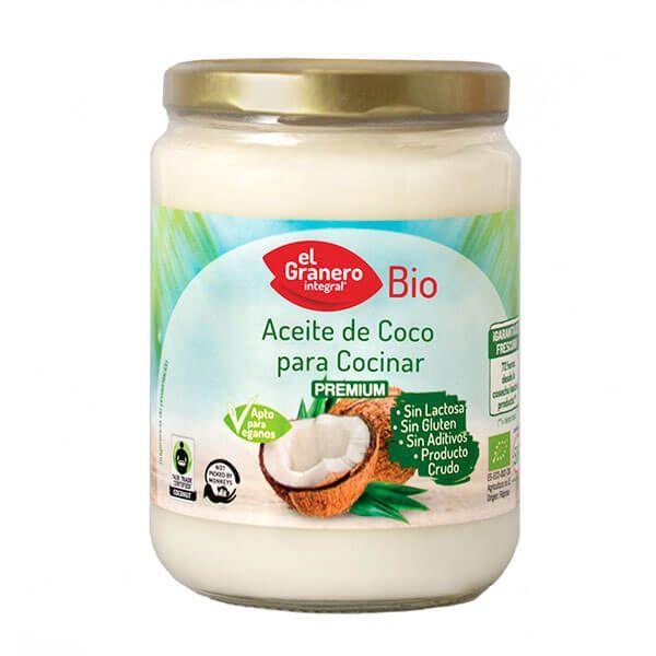 Aceite de Coco para Cocinar Bio - 500ml