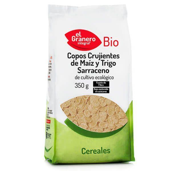 Copos Crujientes de Maíz y Trigo Sarraceno Bio - 350g