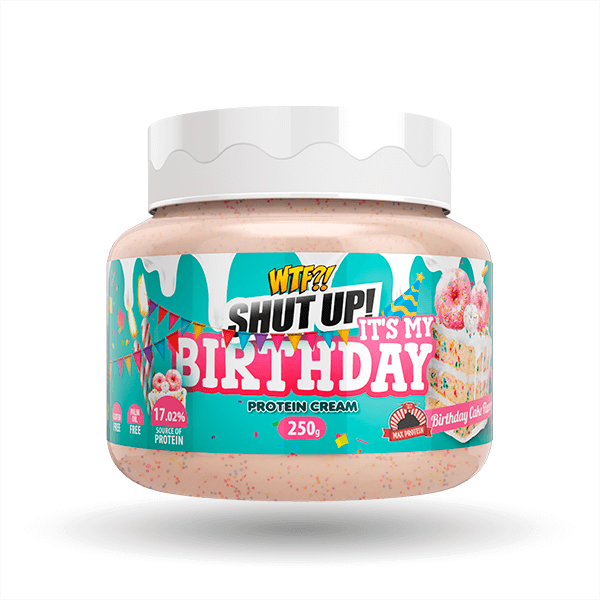Crema WTF Shut Up! It's My Birthday - 250g