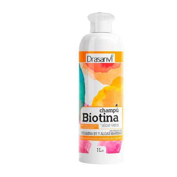 Champú Biotina y Aloe vera - Pelos secos y Apagados