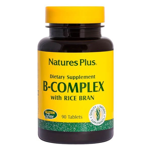 B-Complex with rice bran - 90 Tabletas