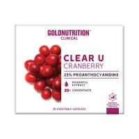 Clear U Cranberry - 15 Cápsulas vegetales