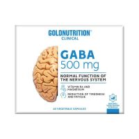 GABA - 60 Cápsulas vegetales