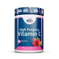 Vitamina C con Rose Hips de Alto Grado 1000mg - 250 Cápsulas