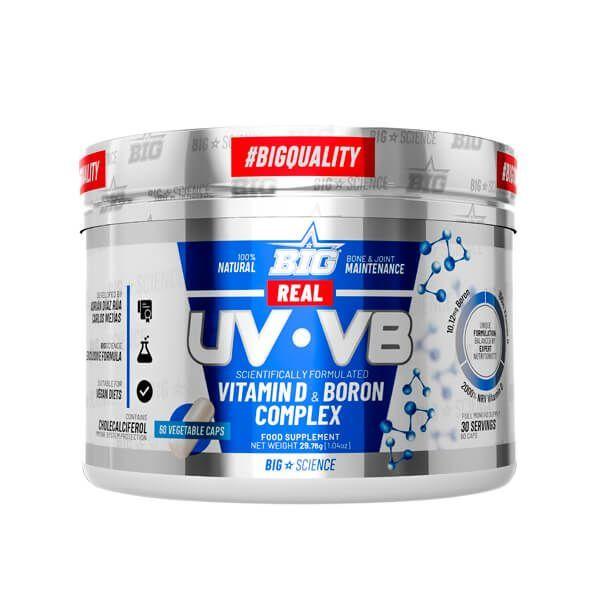 Real UV-VB (Vitamina D y Boro) - 60 Cápsulas