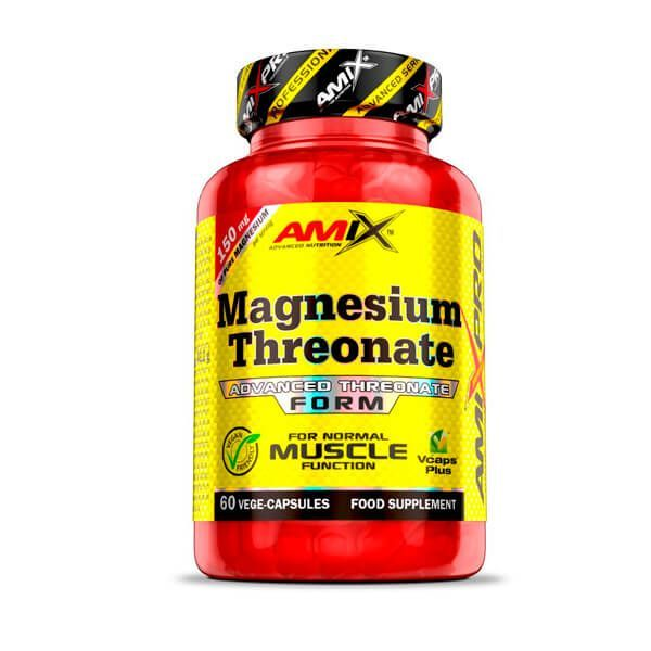 Magnesium Threonate - 60 Cápsulas vegetales