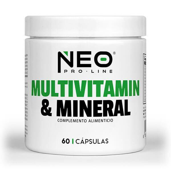 Multivitaminas y Minerales - 60 Cápsulas