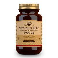 Vitamina B12 1000μg (Cianocobalamina) - 250 Comprimidos sublinguales
