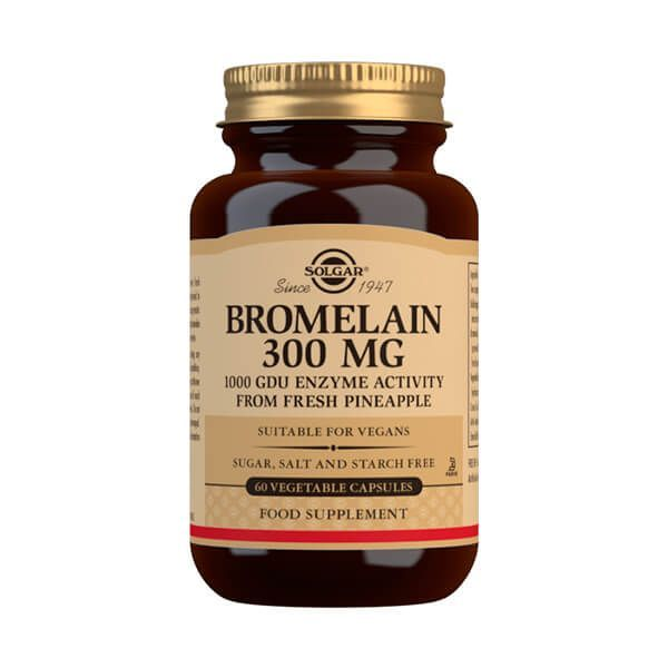 Bromelina 300mg - 60 Cápsulas vegetales