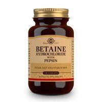Betaína Clorhidrato con Pepsina - 100 Tabletas