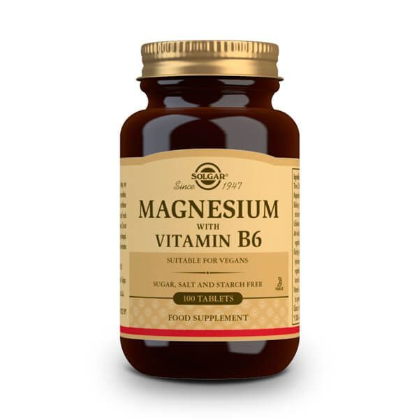 Magnesio con Vitamina B6 - 100 Tabletas
