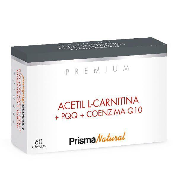 Acetil L-Carnitina + PQQ + Coenzima Q10 - 60 Cápsulas