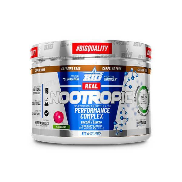 Real Nootropic sin cafeína - 90g