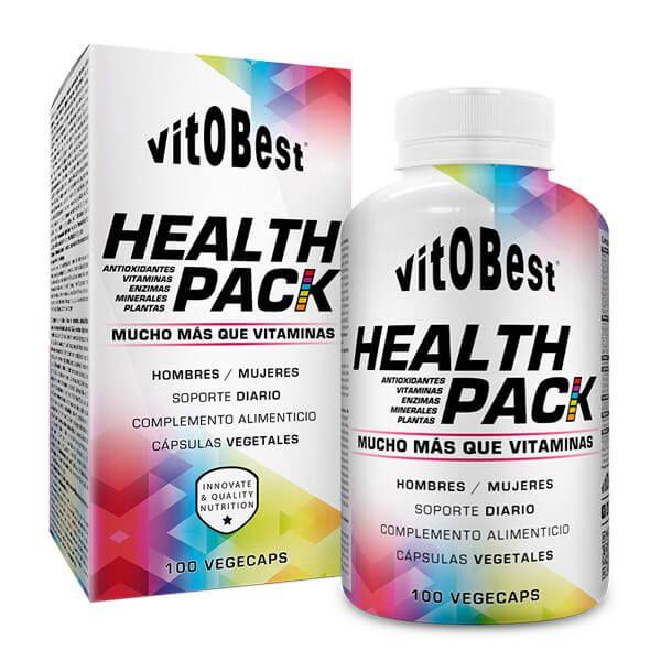 Health Pack - 100 Cápsulas vegetales