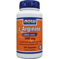 Arginina 500mg - 100 Cápsulas